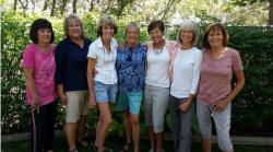 "The ""Toads"" (L to R) Joan Bader, Barbara Close, Shelba Wiese, Ruth Rounds, Kathy Say, Kim Collins, Ruth Herber"
