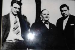 What are the chances Lou Gehrig and Babe Ruth were in Ogden at the same time? Yep that is them with Marty Becker's